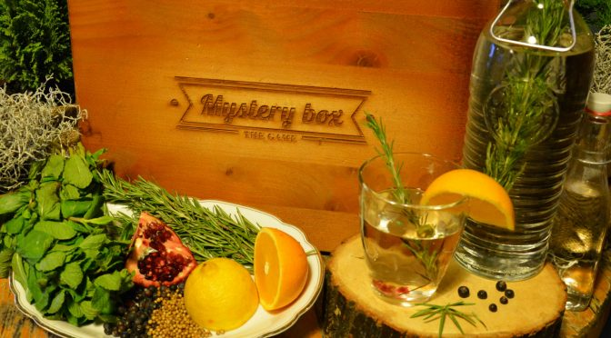 MYSTERY BOX – THE GAME- GIN&TONIC
